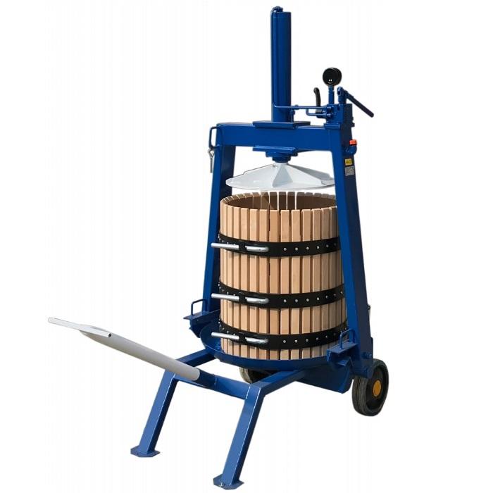 Пресс для винограда TICO-50 128 л. гидравлический