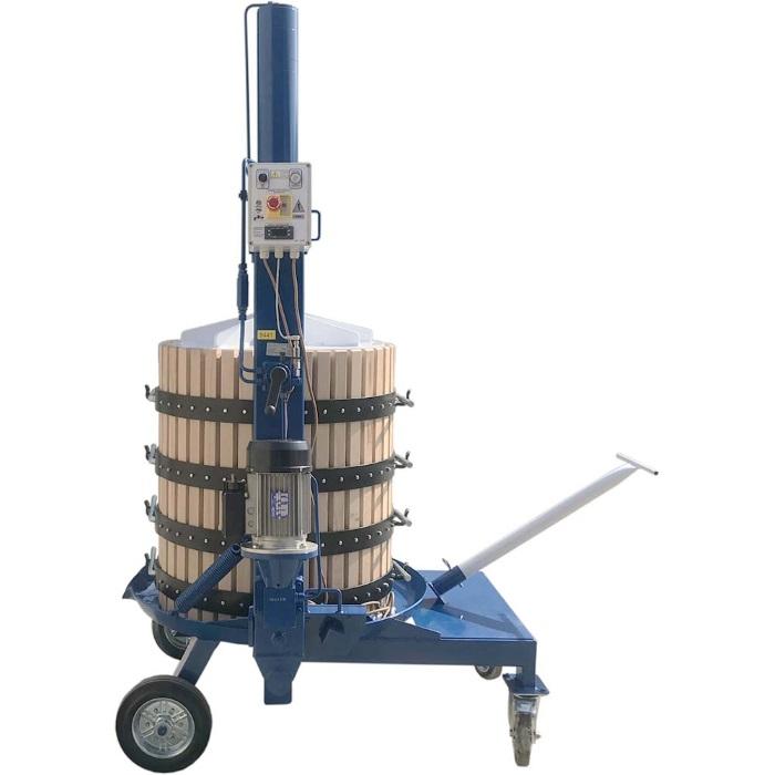 Пресс для отжима TICO-50M 128 л. электрогидравлический