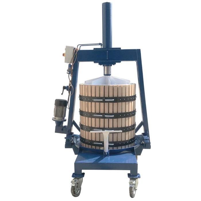 Пресс винный TICO-70M 327 л. электрогидравлический